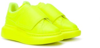 ALEXANDER MCQUEEN KIDS Touch Strap Sneakers