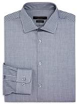 John Varvatos Star Usa Candy-Striped Regular Fit Dress Shirt