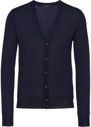 Prada Cashmere Knitted Cardigan