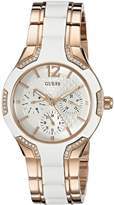 GUESS GUESS? Women's U0556L3 Center Stage White