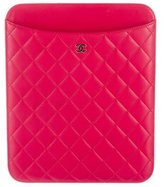 Chanel Quilted iPad Sleeve