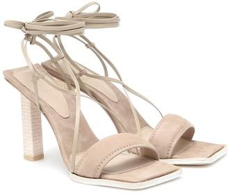 Jacquemus Les Sandales Adour suede sandals