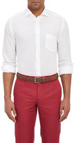 Hartford Men's Relaxed Shirt-WHITE