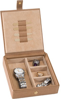Royce Leather Men's Watch Cufflink Box 927-8