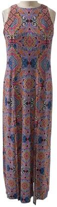 London Times Technicolor Tile Sleeveless Maxi Dress (Plus Size)