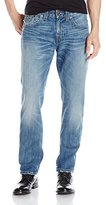 True Religion Men's Geno Jean with Flap Back Pockets in