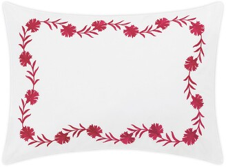 Matouk Daphne Floral Embroidered Sham