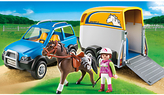 Playmobil Country SUV with Horse Trailer