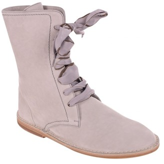 Brunello Cucinelli Grey Leather Boots