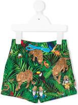 Dolce & Gabbana jungle print swimshorts