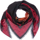 Givenchy Rottweiler Wool & Silk-Blend Stole