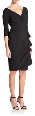 Chiara Boni La Petite Robe Florian Side Ruffle Dress