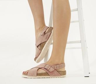 Birkenstock Tulum Cross Sandals Light Rose