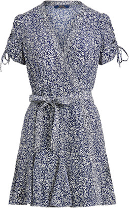 Ralph Lauren Floral-Print Wrap Dress