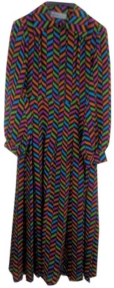 Jean Louis Scherrer Jean-louis Scherrer Multicolour Dress for Women Vintage