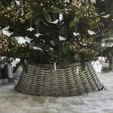 The White Company Wicker Christmas Tree Skirt