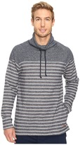 Tommy Bahama Brush Back French Terry Funnel Neck Pullover
