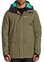 Oakley Westend Hooded Worn Olive Jacket.