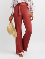 Charlotte Russe Belted Palazzo Pants