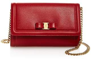 Salvatore Ferragamo Vara Bow Leather Mini Bag