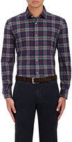 Piattelli MEN'S PLAID COTTON FLANNEL SHIRT