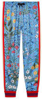 Gucci New Flora technical jersey pant