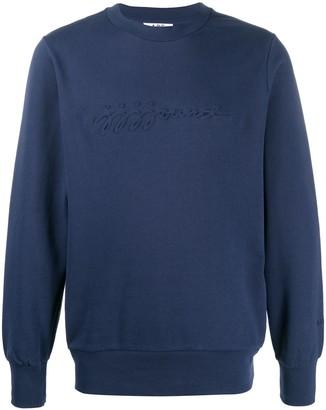 A.P.C. Embossed Logo Sweatshirt