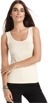 Karen Kane Sleeveless Scoop-Neck Tank