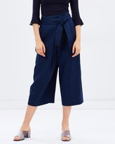 Whistles Tilda Wrap Paper Bag Waist Trousers