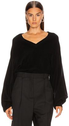 LOULOU STUDIO Fangatau Sweater in Black | FWRD