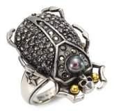 Alexander McQueen Beetle Ring