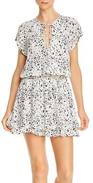 Rails Karla Printed Smocked Waist Dress
