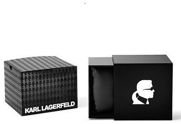 Karl Lagerfeld '7 Klassic' Chronograph Bracelet Watch, 39mm