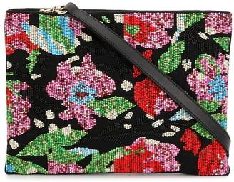 Miu Miu Abstract Floral Pattern Tote Bag