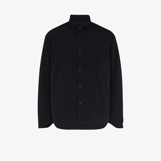 Descente Black Insulated Long Sleeve Shirt