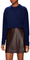 Tibi Cashmere Ribbed Sweater