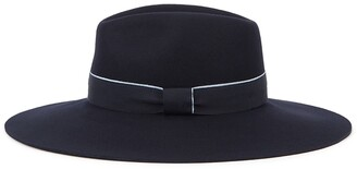 Christys London Christys' London Wilmslow Navy Wool Felt Fedora
