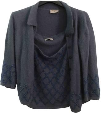 Philosophy di Alberta Ferretti Turquoise Wool Top for Women