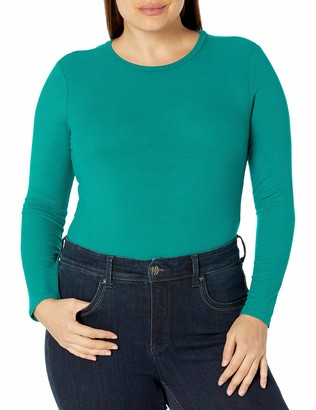 Forever 21 Women's Plus Size Ribbed Bodysuit
