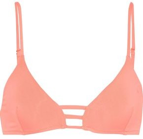 Melissa Odabash Perth Lattice-trimmed Triangle Bikini Top