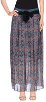 Pinko GREY Long skirts