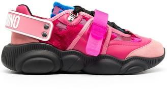 Moschino Teddy brocade-pattern sneakers