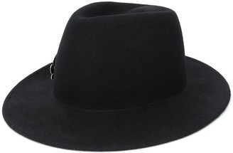 Ann Demeulemeester Wool Hat With Silver-Tone Embellishment