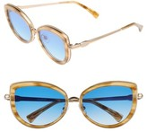 Wildfox Couture Women's Chaton 54Mm Sunglasses - Antique Gold