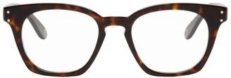 Gucci Tortoiseshell Square Glasses