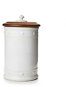 Juliska Berry & Thread 11.5 Canister with Wooden Lid