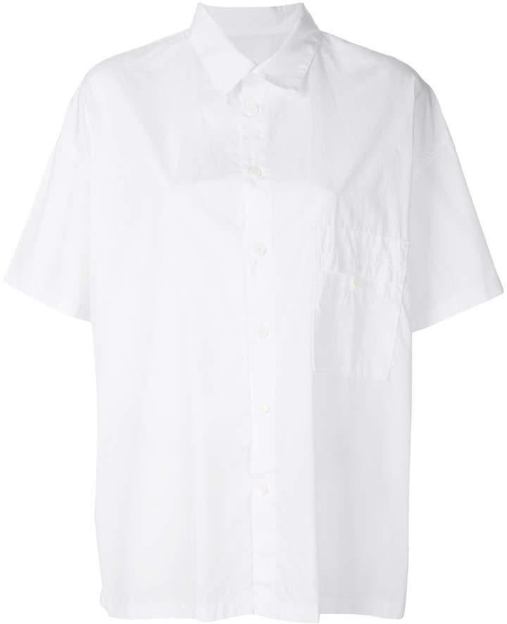 Y's flared hem shirt
