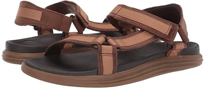 Sperry Brown Men's Sandals on Sale