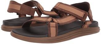 Sperry Regatta 2-Strap Sandal (Brown/Tan) Men's Sandals