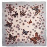 Valentino Women's Mariposa Garden Silk Scarf